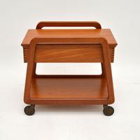 Danish Vintage Teak Sewing Table / Work Box (2 of 7)