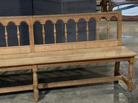 Pair of French 19th Century Dining Benches (4 of 15)