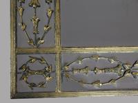 Large Impressive Metal Mirror (3 of 3)