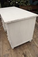Fabulous! Old Pine / White Painted Desk / Dressing Table - We deliver! (4 of 11)