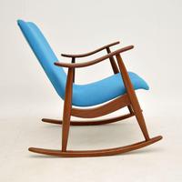 Vintage Dutch Rocking Chair by Louis Van Teefelen (3 of 8)
