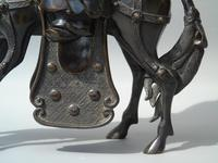 19th Century Chinese Bronze Figure Zhang Guolao on an Ass (10 of 11)