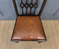 Set of 8 Mahogany Chippendale Style Dining Chairs (11 of 13)