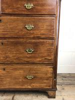 Antique 19th Century Oak & Mahogany Chest of Drawers (2 of 12)