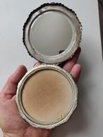 Solid 900 Silver Loose Powder Compact Large Size Continental 1930s-1940s (6 of 13)