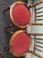 Antique Set 4 Kitchen Chairs (7 of 10)