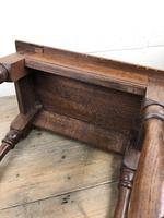 Antique Oak Joint Stool (8 of 11)