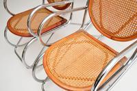 1970's Pair of Retro  Chrome & Bamboo Rocking Chairs (7 of 13)