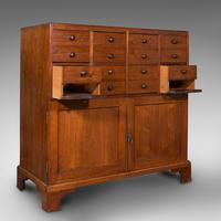 Antique Butler's Cabinet, English, Walnut, Estate, Chest of Drawers, Victorian (2 of 13)