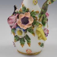Spode Porcelain Bird & Flower Encrusted Scent / Perfume Bottle (10 of 13)