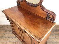 Victorian Mahogany Mirror Back Chiffonier Sideboard (3 of 13)