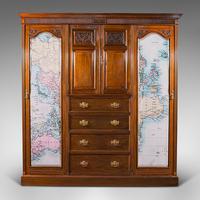 Antique Gentleman's Wardrobe, Walnut, Compactum, Waring & Gillow, Victorian (2 of 12)