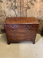 Georgian Mahogany Chest of Drawers Four Drawers with Swan Neck Handles (2 of 5)