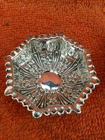 Antique Sterling Silver Pair of Salts & Matching Spoons 1899 William Devenport (5 of 12)