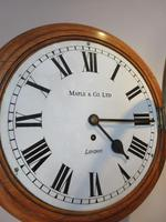 Antique Single Fusee London Wall Clock (2 of 7)