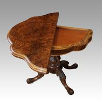 Victorian Walnut Card Table (9 of 10)