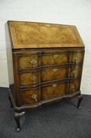 Antique Queen Anne Design Walnut Bureau (2 of 9)