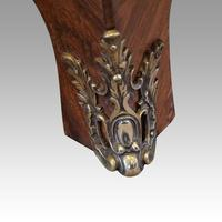1930's Marble Top Marquetry Bombe Commode (8 of 9)