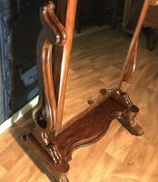 Victorian Walnut Cheval Mirror (11 of 12)