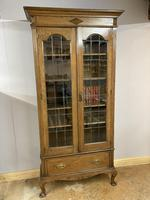 Edwardian Tall Bookcase (2 of 14)