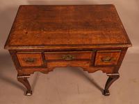 18th Century Oak Lowboy Very Original (6 of 8)