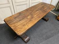 Rustic Oak Farmhouse Table & Bench Set (16 of 29)