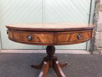 Antique Mahogany Drum Table (8 of 9)