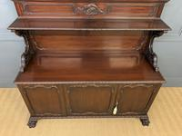 Late Victorian Carved Mahogany Chiffonier (10 of 17)