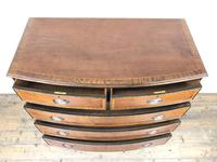 Quality 20th Century Bow Front Mahogany Chest of Drawers (M-1537) (9 of 11)