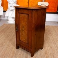 Walnut Bedside Cabinet Victorian (5 of 6)