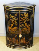 Handsome Regency Chinoiserie Corner Cabinet (4 of 8)