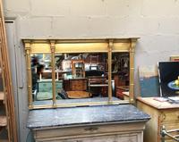 C19th Gilt Overmantel Mirror (12 of 14)