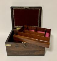 Antique Rosewood Jewellery Box (3 of 13)
