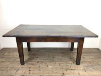 Early 19th Century Oak Kitchen Table (6 of 12)