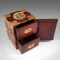 Antique Collector's Box, Chinese, Rosewood, Decorative Specimen Case c.1920 (7 of 12)