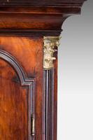 19th Century Mahogany Painted Dial Longcase Clock (5 of 6)