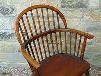 Antique Oak Windsor Chair (5 of 8)