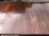 Antique Mahogany 8Ft Wind Out Extending Dining Table (13 of 14)