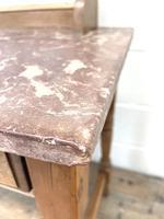 Antique Pine Tile Back Washstand (9 of 15)
