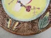 An English Majolica Plate (4 of 6)
