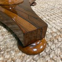 Victorian Rosewood Circular Antique Occasional Table (3 of 7)