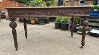 Quality Victorian Oak Writing Desk (5 of 12)