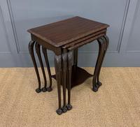 Nest of 3 Mahogany Tables (3 of 12)