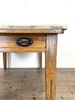 Victorian Pine Scrub Top Farmhouse Table (8 of 10)