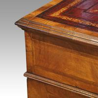 Walnut Pedestal Desk by Waring and Gillow (11 of 18)