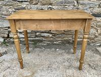 Antique Pine Side Table with Drawer (14 of 14)
