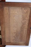 Georgian Oak Corner Cupboard with Britannia Inlay (12 of 13)