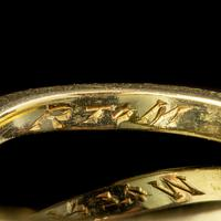 Antique Edwardian 1ct Diamond Twist Ring 18ct Gold Circa 1910 (4 of 9)