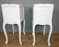 Pair of White Painted Bedside Tables (6 of 9)