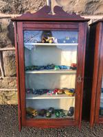 Pair of Antique Mahogany Shop Display Cabinets (2 of 8)